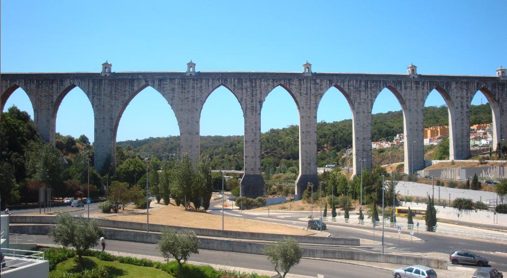 L'aqueduc des Eaux Libres de Lisbonne