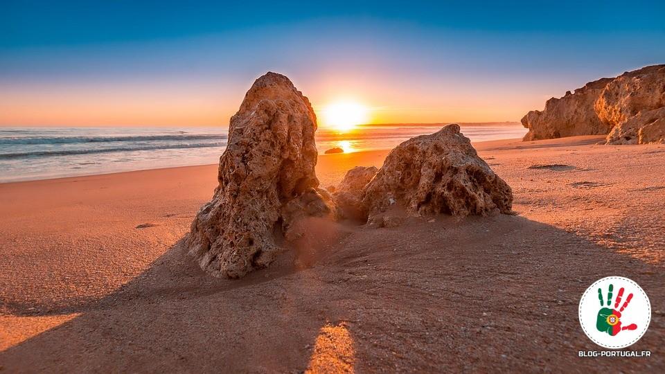 icônes du Portugal plage soleil
